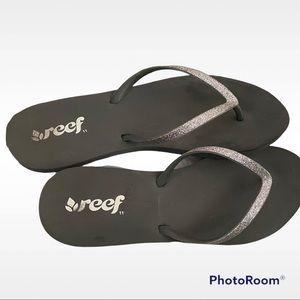 Reef black/silver Flip Flop Sandals